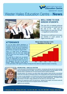 WHEC Newsletter September 2012