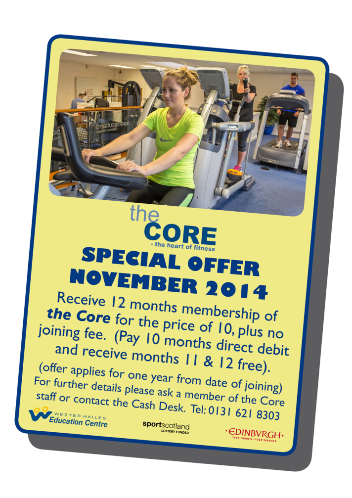 Core Offer Sept